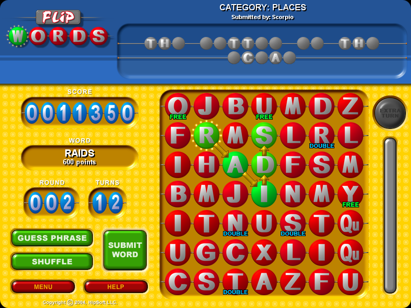 Flip Words Screenshot