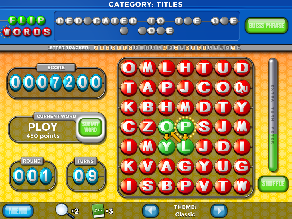 Flip Words HD Screenshot