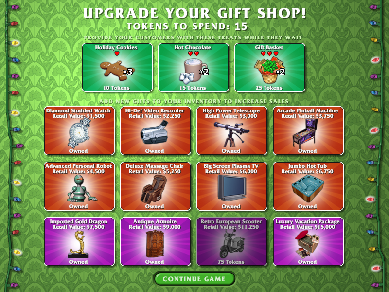 Gift Shop Screenshot