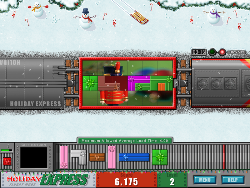 Holiday Express Screenshot
