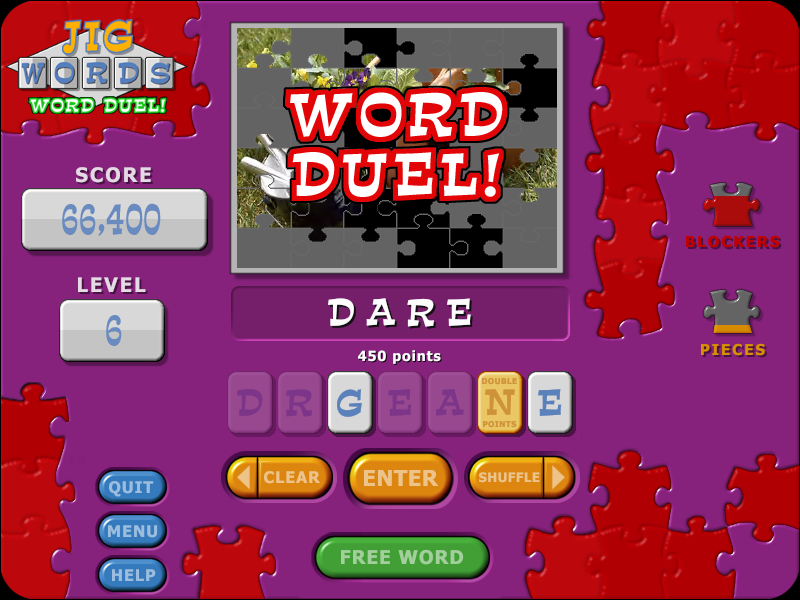 Jig Words Screenshot